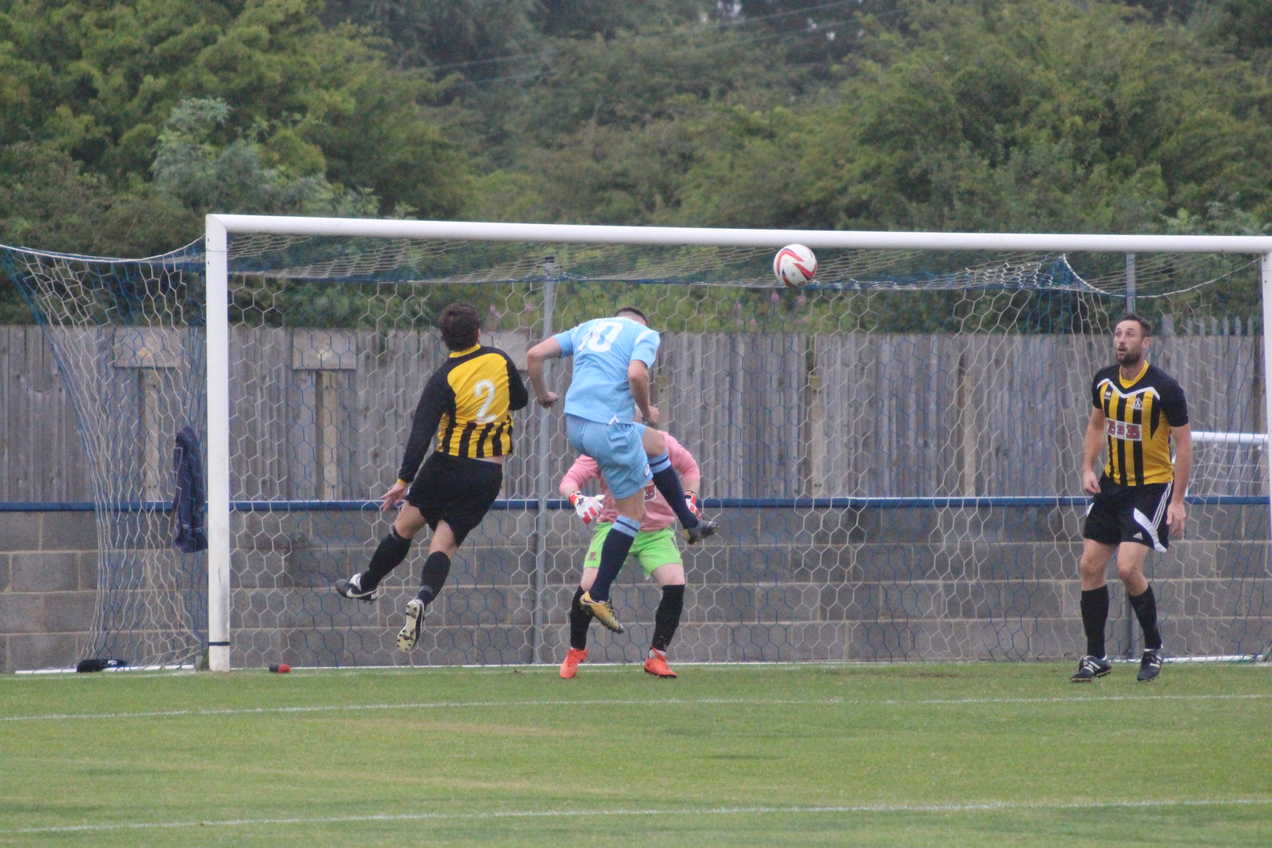 First Team 7-1 LIV Supplies – Two hat-tricks and a familiar face returns to pitch