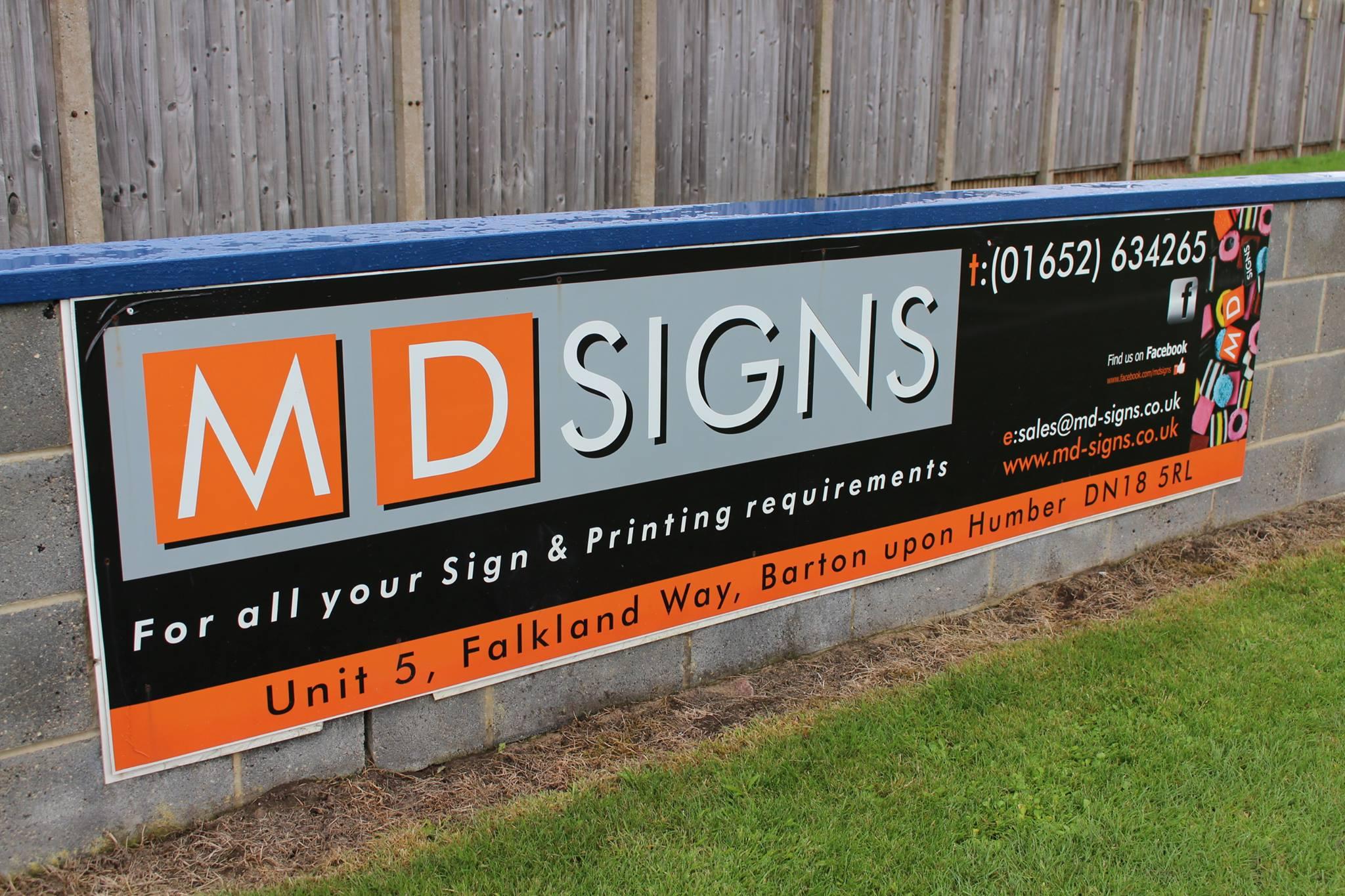 Sponsor Spotlight – MD Signs