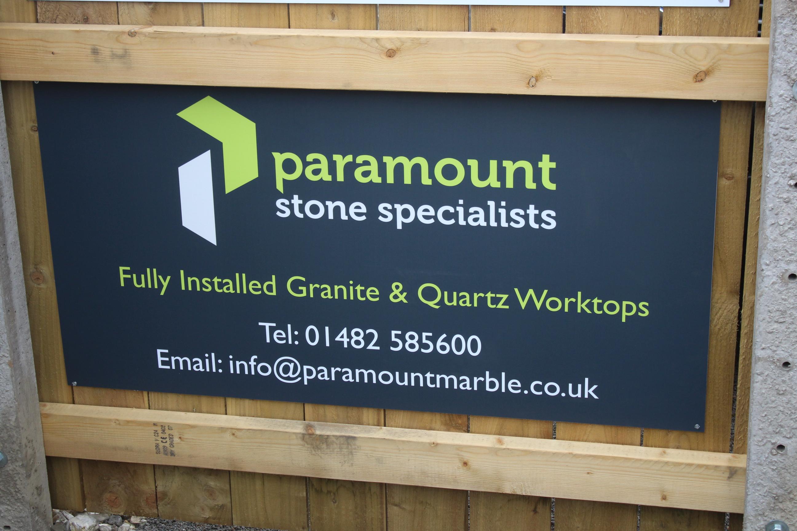 Sponsor Spotlight – Paramount Marble