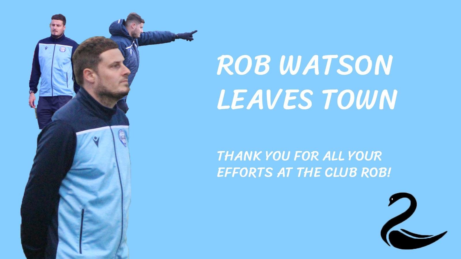 Club Statement – Rob Watson