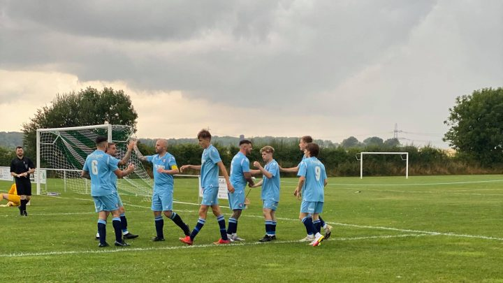 Reserves edged out by Keelby in goal-fest