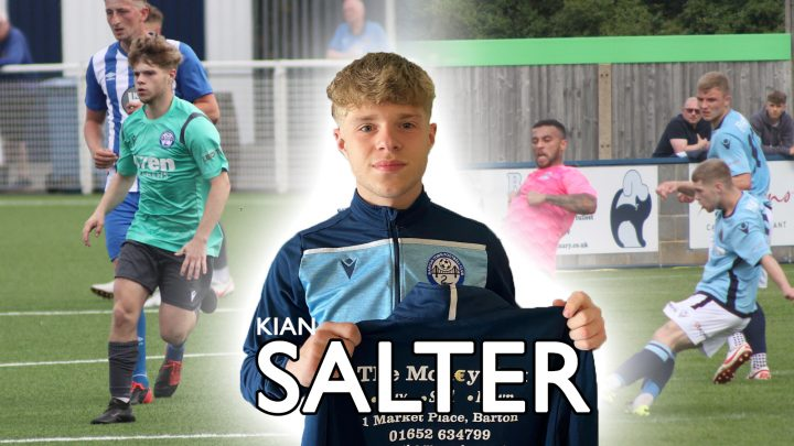 Kian Salter promoted to first team from reserves